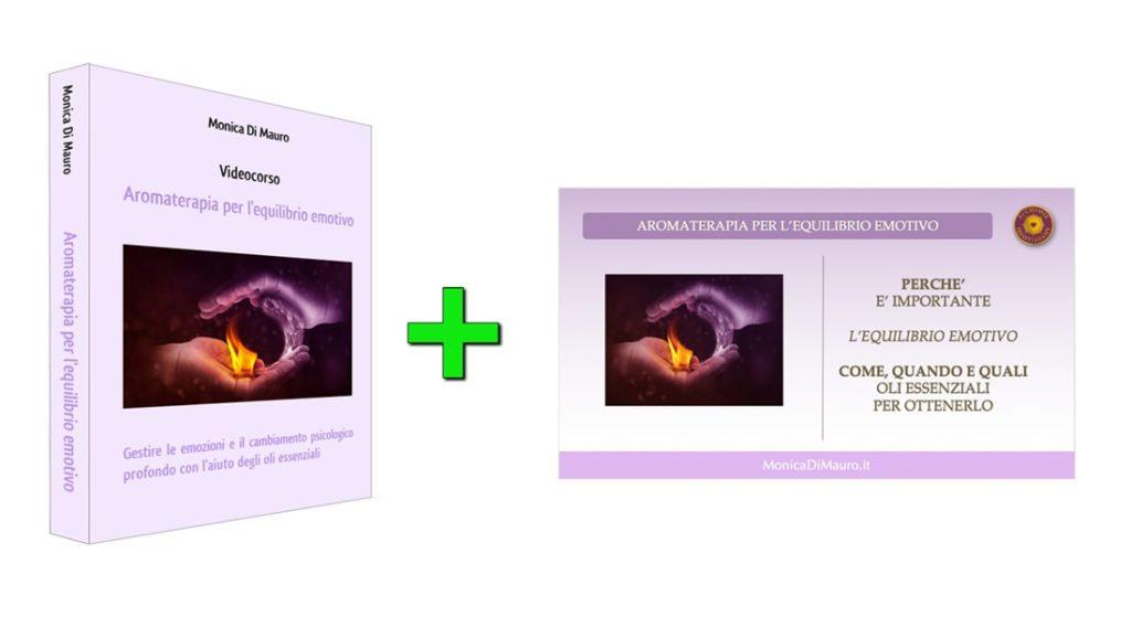 Aromaterapia per l'equilibrio emotivo: videocorso + slide