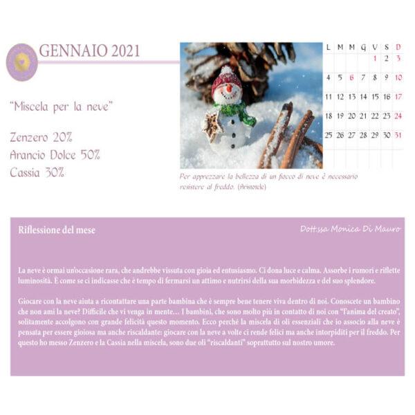 Calendario Aromaterapia 2021 - Dott.ssa Monica Di Mauro