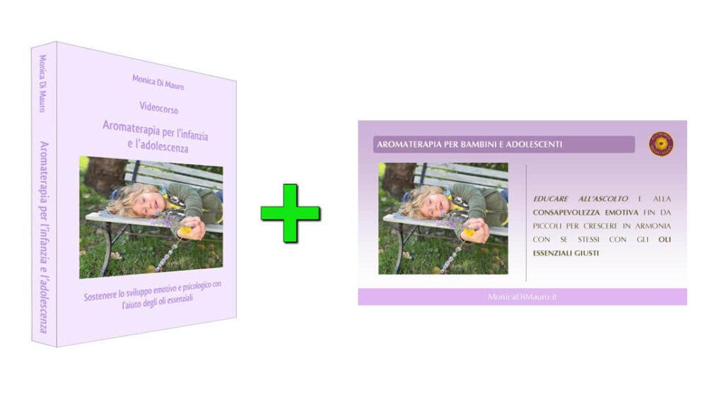 Aromaterapia per l'infanzia e l'adolescenza: videocorso + slide