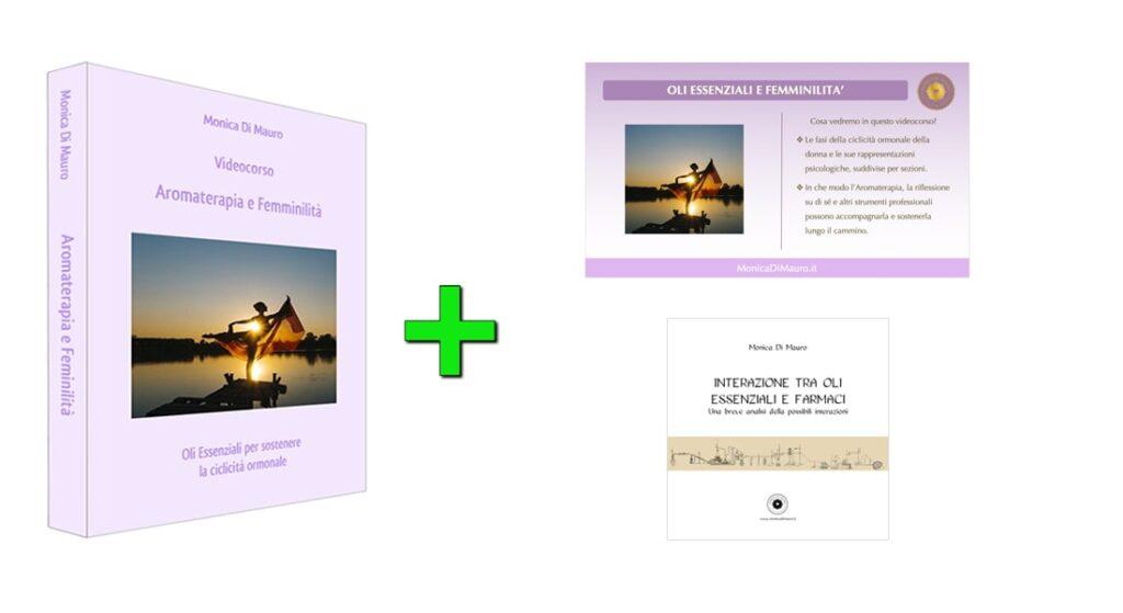 Aromaterapia e Femminilità: videocorso + slide + pdf